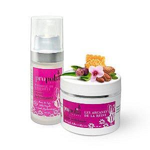 serum et crème revitalisante visage