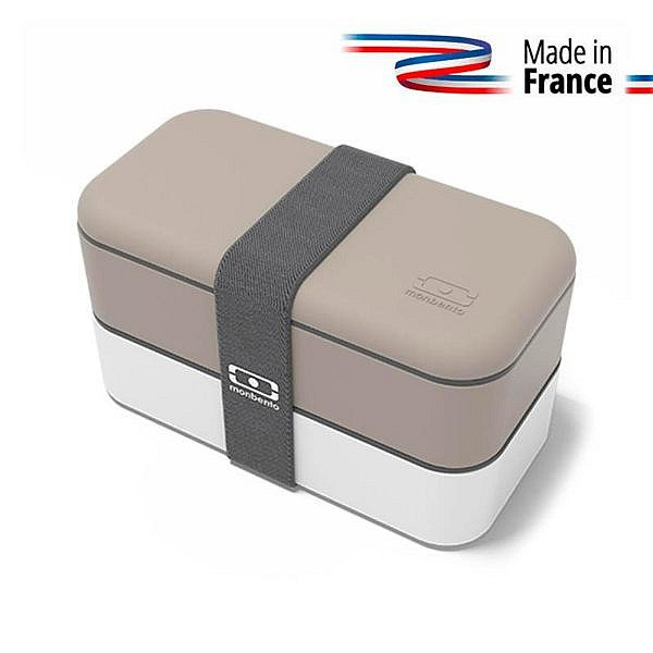 Lunch box MB original Gris sans bpa / Blanc