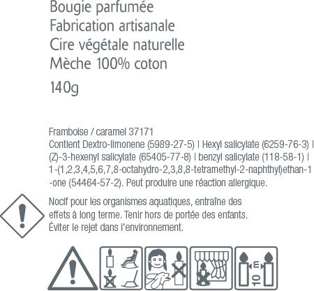 bougie-parfumée sans CMR Amelie